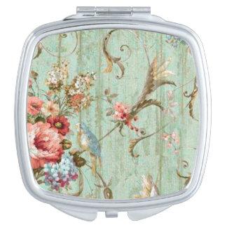 Vintage Design Compact Mirror