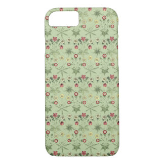 Vintage Design Daisies In Mint Green For iPhones iPhone 8/7 Case
