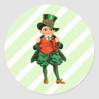 Vintage Design St.Patrick's Day Stickers