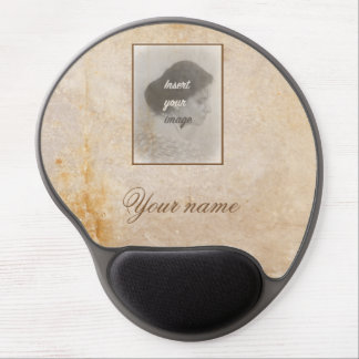 Vintage design with your photo. Add your text. Gel Mouse Pad
