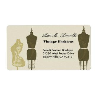 Vintage Designer Fashions & Craft  Business