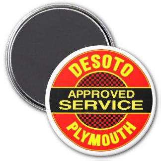 Vintage DeSoto service sign Magnet