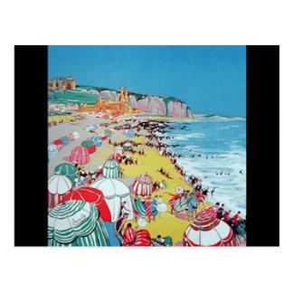 Vintage Dieppe Postcard