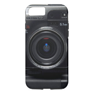Vintage digital Japanese camera iphone case