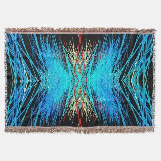 Vintage Digital Throw Blanket