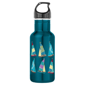 Vintage Dinghies 532 Ml Water Bottle