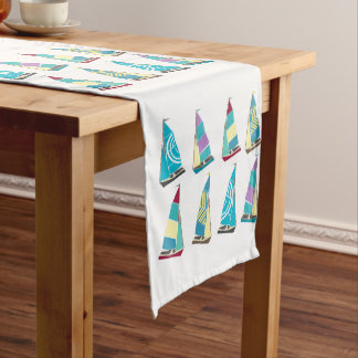 Vintage Dinghies Long Table Runner
