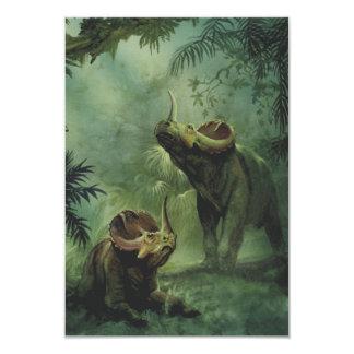 Vintage Dinosaurs, Centrosaurus in the Jungle Card