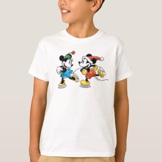 Vintage Disney | Mickey & Minnie Ice Skating T-Shirt