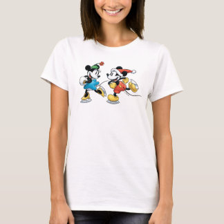 Vintage Disney | Mickey & Minnie Ice Skating T-Shirt