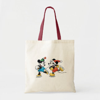 Vintage Disney | Mickey & Minnie Ice Skating Tote Bag