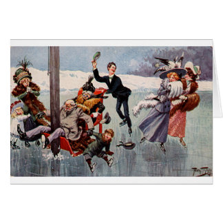 Vintage - Distraction on the Ice, Card