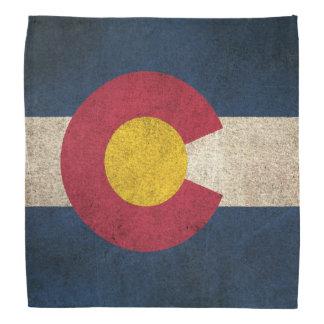 Vintage Distressed Flag of Colorado Bandana