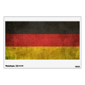 Vintage Distressed Flag of Germany Wall Decal