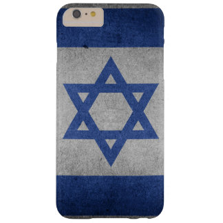 Vintage Distressed Flag of Israel Barely There iPhone 6 Plus Case