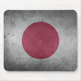 Vintage Distressed Flag of Japan Mouse Pad