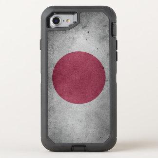 Vintage Distressed Flag of Japan OtterBox Defender iPhone 8/7 Case