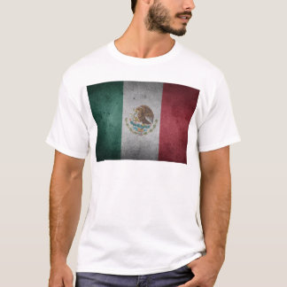 Vintage Distressed Flag of Mexico T-Shirt