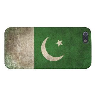 Vintage Distressed Flag of Pakistan iPhone 5 Case