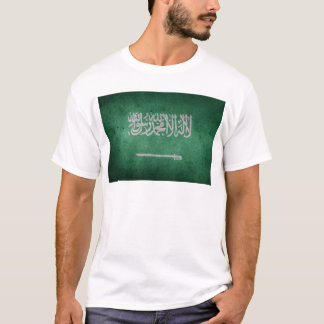Vintage Distressed Flag of Saudi Arabia T-Shirt