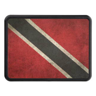 Vintage Distressed Flag of Trinidad and Tobago Trailer Hitch Cover
