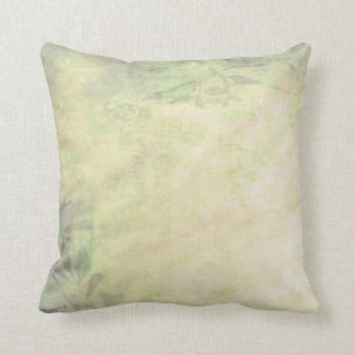 Vintage Distressed  Green Melon Pillow