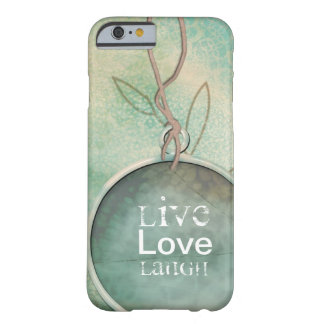 Vintage Distressed Live, Love, Laugh Barely There iPhone 6 Case