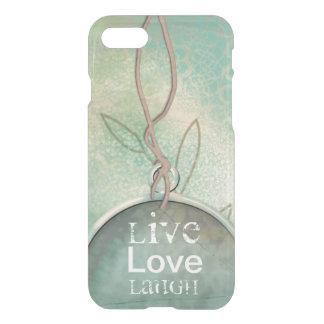 Vintage Distressed Live, Love, Laugh iPhone 8/7 Case