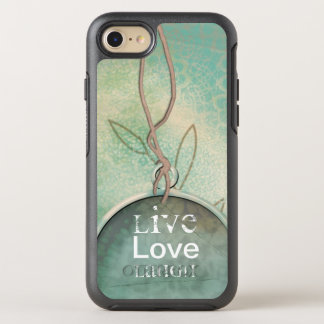 Vintage Distressed Live, Love, Laugh OtterBox Symmetry iPhone 8/7 Case
