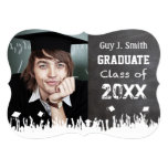 Vintage Distressed Poster Style Grunge Graduation