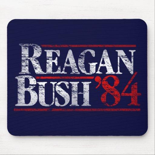 Vintage Distressed Reagan Bush '84 Mousepad