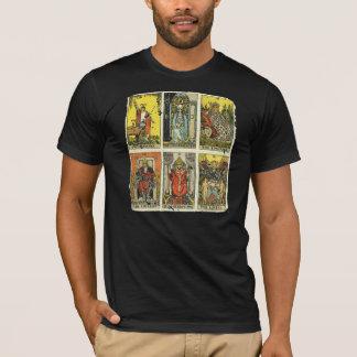 Vintage Distressed Tarot Tee: First Major Six T-Shirt