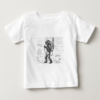 Vintage Diver - ocean diving suit Baby T-Shirt