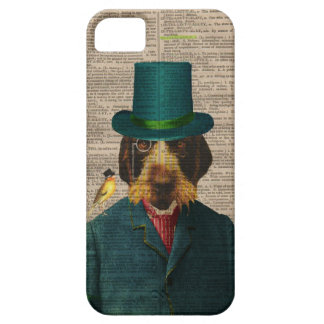 Vintage Dog Illustration IPhone 5 Case
