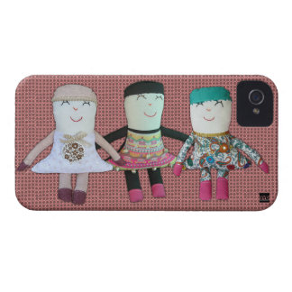Vintage Doll Girlfriends iPhone 4 Case-Mate Case
