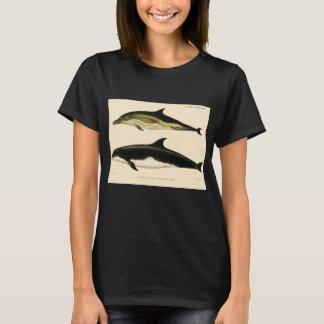 Vintage Dolphins, Marine Animals and Mammals T-Shirt