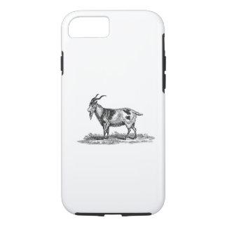 Vintage Domestic Goat Illustration -1800's Goats iPhone 7 Case