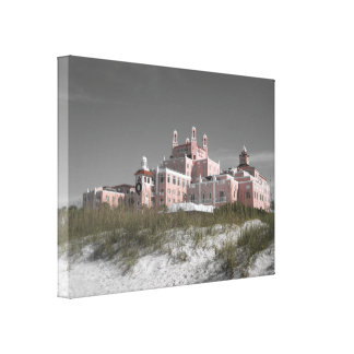 Vintage Don CeSar Canvas Print