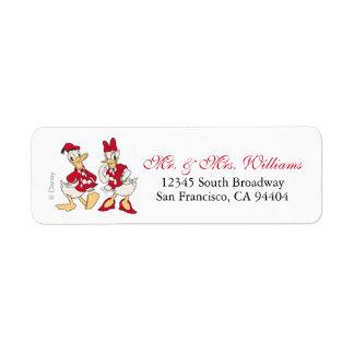 Vintage Donald & Daisy   Warm Holiday Hearts