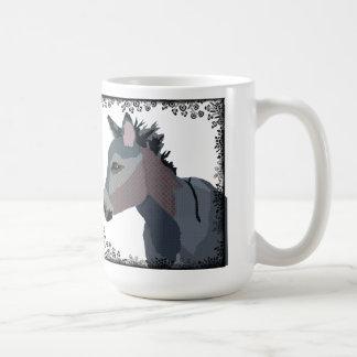 Vintage Donkey Art Mug