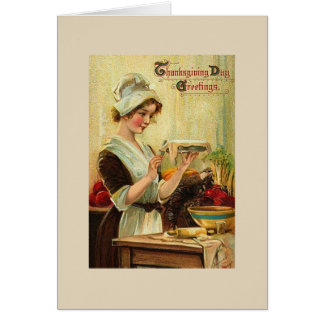 Vintage - Don't Count Calories on Thanksgiving, Card