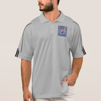 Vintage Don't Fear Cancer WPA Poster Polo Shirt
