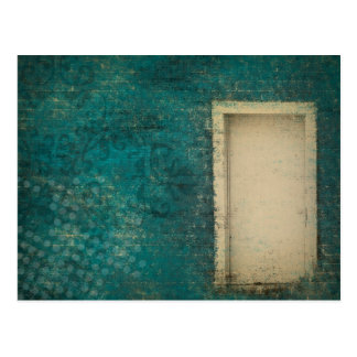 Vintage Door Background Post Card