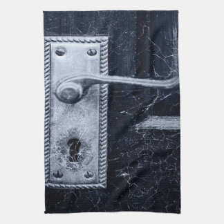 Vintage Door Handle Hand Towels