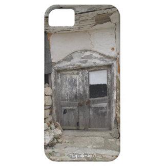 Vintage door iPhone case