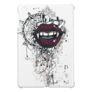 vintage dracula lips iPad mini cases