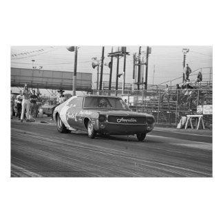Vintage Drag Racing - 1969 Javelin1 Funny Car Poster
