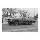 Vintage Drag Racing - 1970 Olds 442 Chesrown Poster