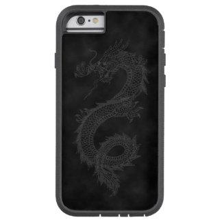 Vintage Dragon Black Smoke Tough Xtreme iPhone 6 Case