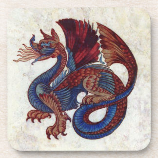 Vintage Dragon Image Coaster